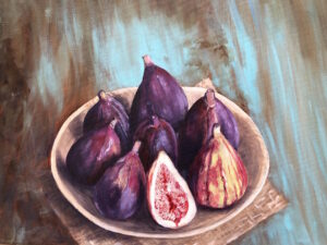 Oil painting figs